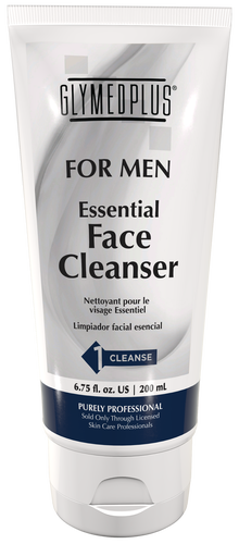 GlyMed Plus Mens Essential Face Cleanser