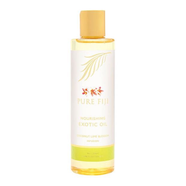 Pure Fiji Exotic Bath & Body Oil - Coconut Lime Blossom