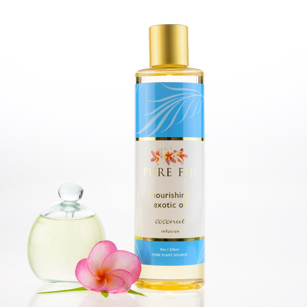 Pure Fiji Exotic Bath & Body Oil - Coconut