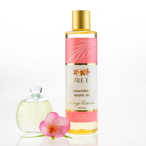 Pure Fiji Exotic Bath & Body Oil - Orange Blossom