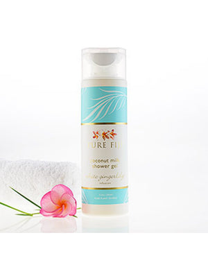 Pure Fiji Coconut Milk Shower Gel - White Gingerlily