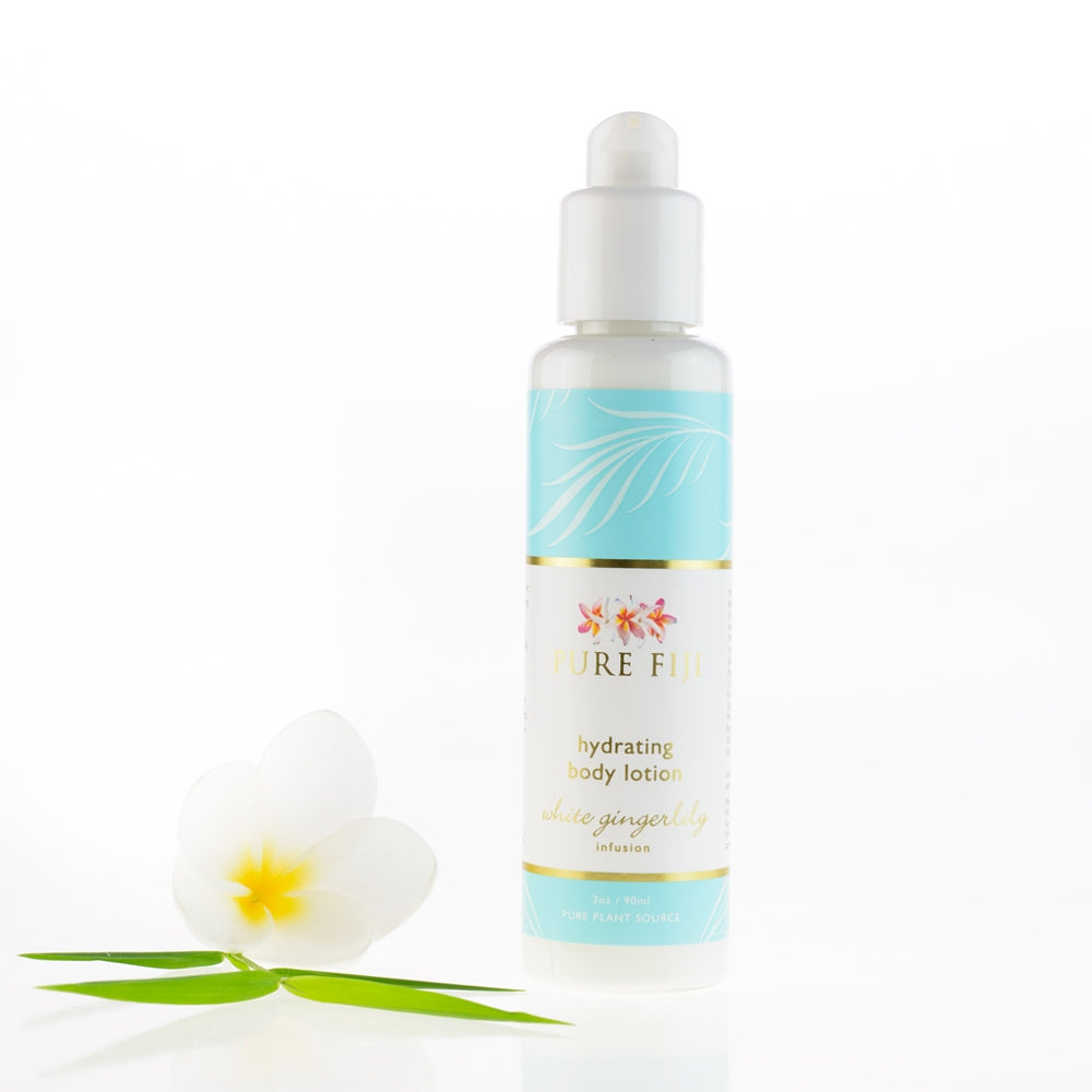 Pure Fiji Travel Lotion - White Gingerlily