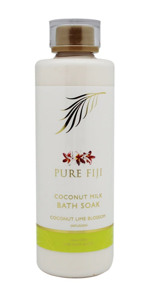 Pure Fiji Coconut Milk Bath Soak - Coconut Lime Blossom