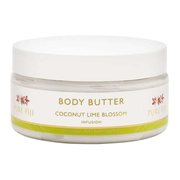 Pure Fiji Body Butter - Coconut Lime Blossom