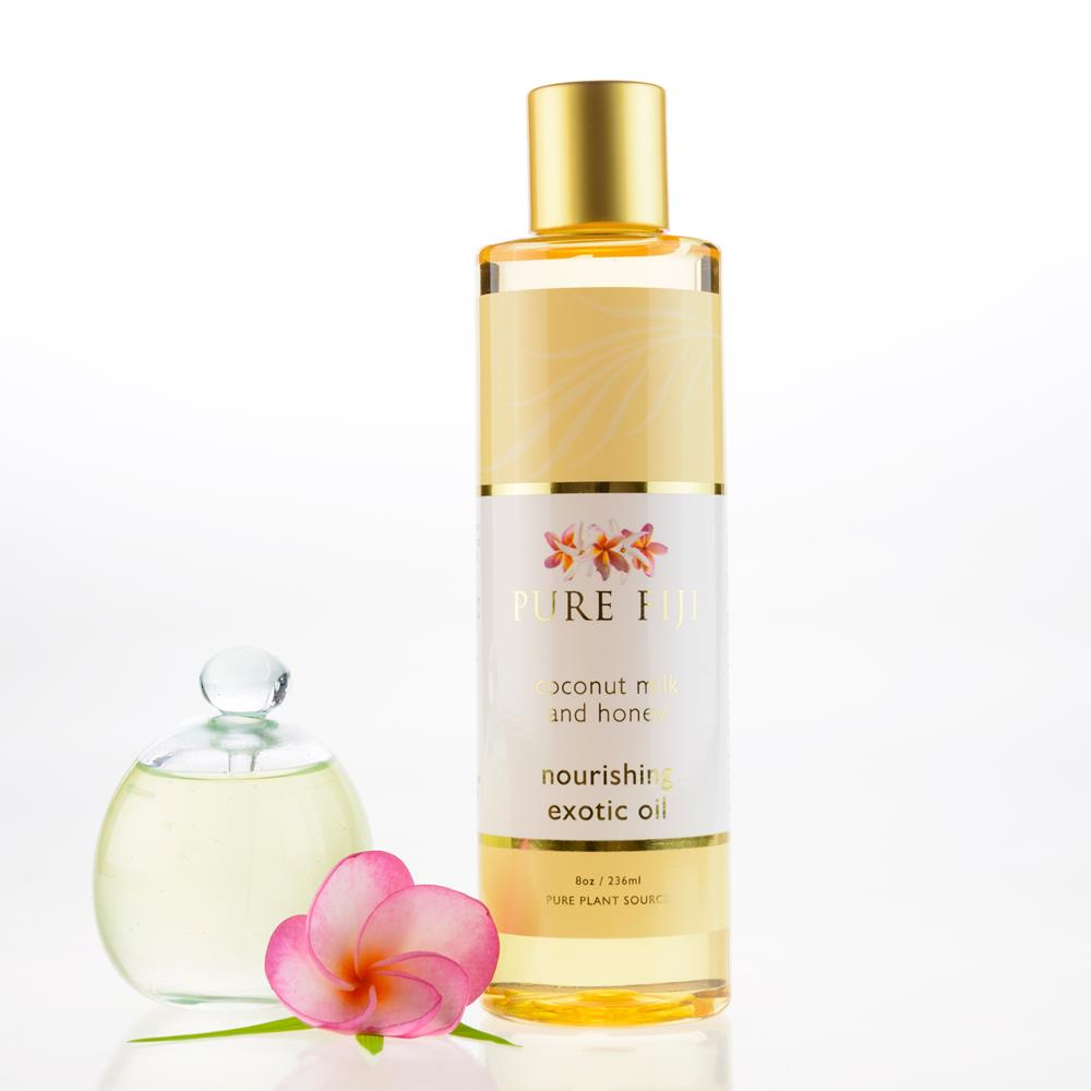 Pure Fiji Exotic Bath & Body Oil - Coconut Milk and Honey