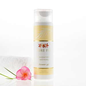 Pure Fiji Coconut Milk Shower Gel - Coconut Milk and Honey