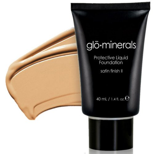 Glo-Minerals Protective Liquid Foundation Satin II - Natural Light