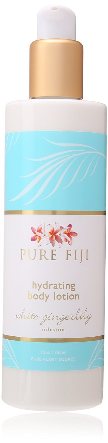 Pure Fiji Hydrating Body Lotion - White Gingerlily
