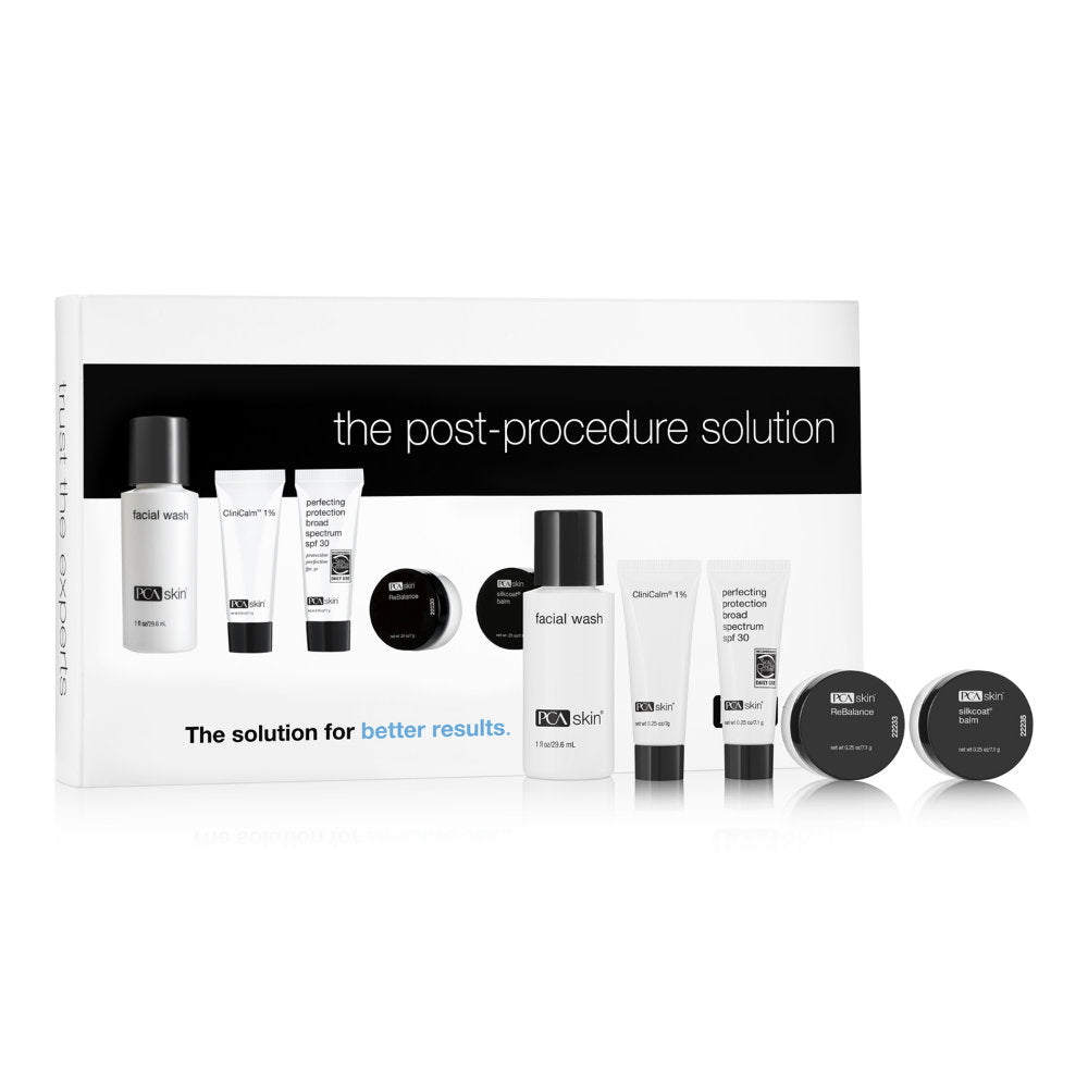PCA Skin The Post-Procedure Solution Kit - Trial Size (5 piece)