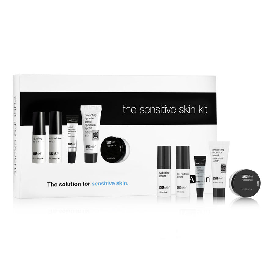 PCA Skin The Sensitive Skin Kit - Trial Size (5 piece)