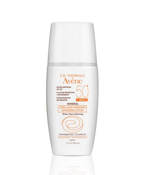 Avene Mineral Ultra-Light Hydrating Sunscreen Lotion SPF 50+ Face