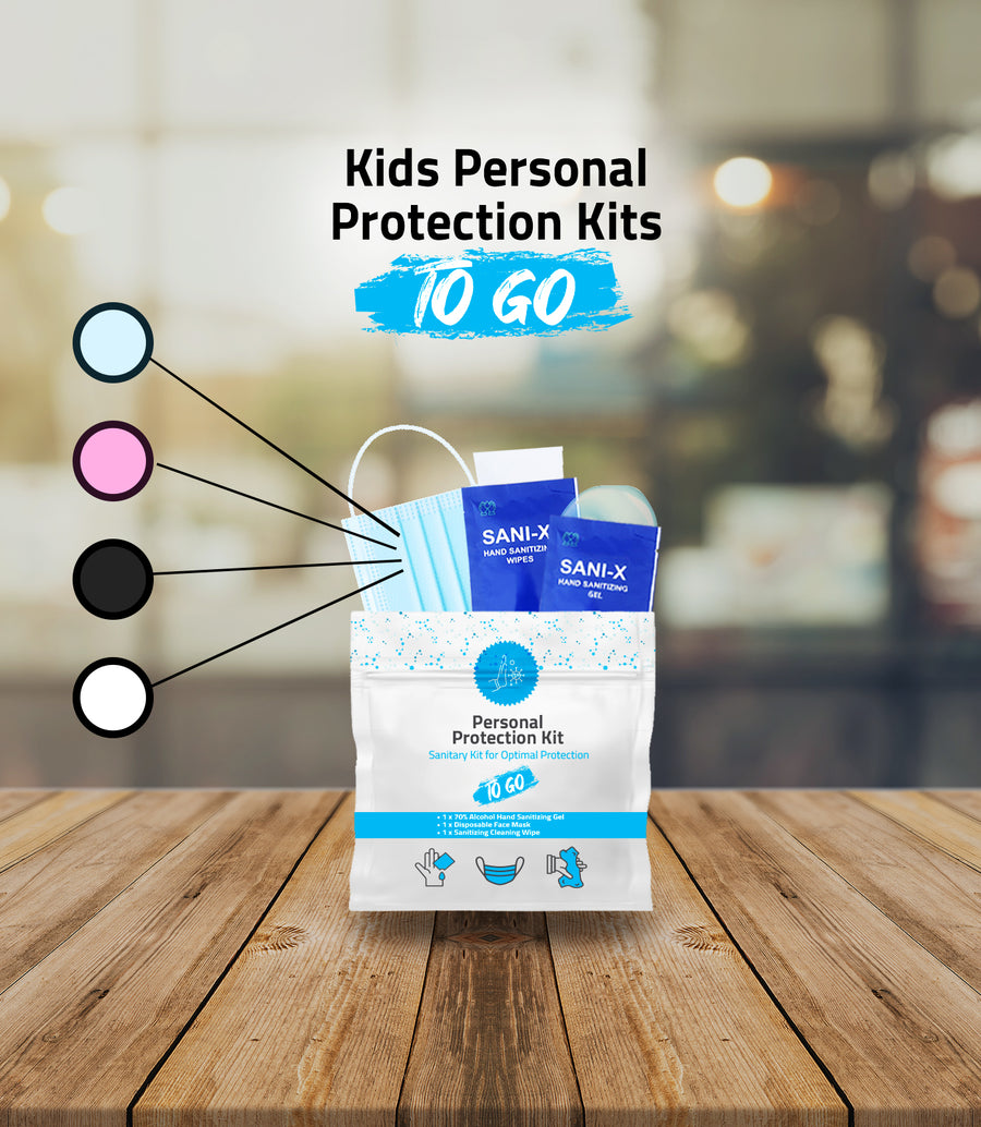 Kids Size Mask Protection Kits – All in One