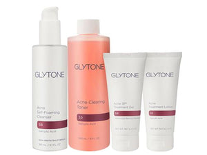 Glytone Acne Clearing System 4 Piece Kit