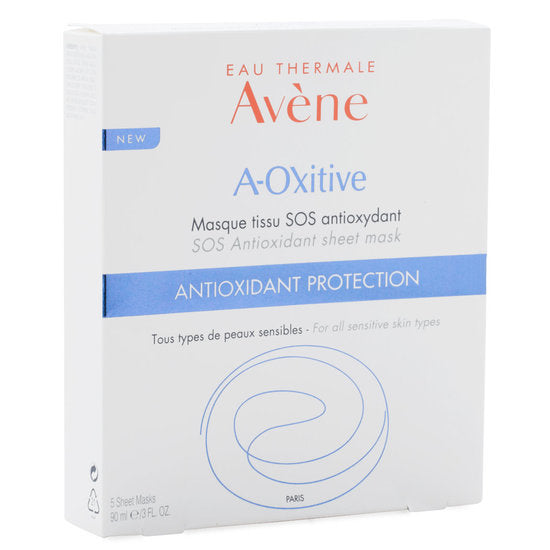 Eau Thermale Avène A-Oxitive Antioxidant Protection (5 Sheet Masks)