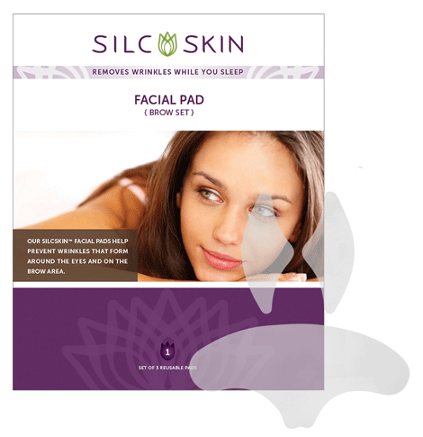 SilcSkin Facial Pads – Brow set