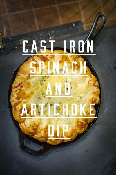 MtnRanks Cookbook - Cast Iron Spinach and Artichoke dip