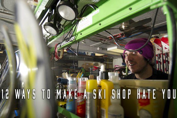 A Ski Town Christmas: 12 Ways to Make A Ski Shop Hate You During the Holidays
