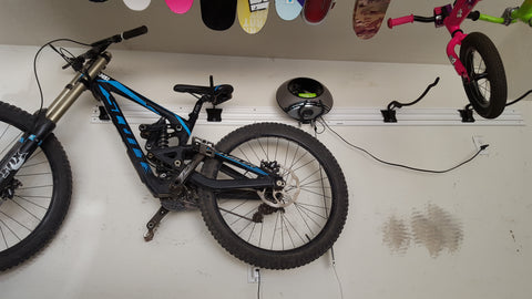 Husky Wall Mounted Mountain Bike Rack