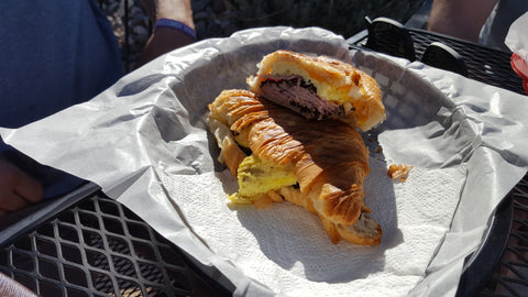 River Rock Ham Egg and Cheese Breakfast Croissant