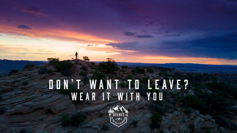 Clothing that takes the Feeling of the great outdoors with you, where ever you roam.