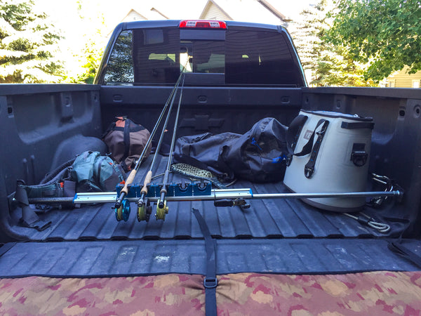 DIY Fly Fishing Rod Rack