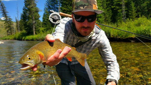 fly fishing mtnranks hat wyoming
