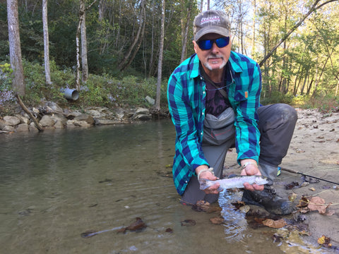 fly fishing in the red river gorge