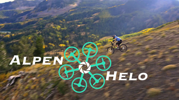 Downhill Mountain Biking in Park City Utah with AlpenHelo Drones