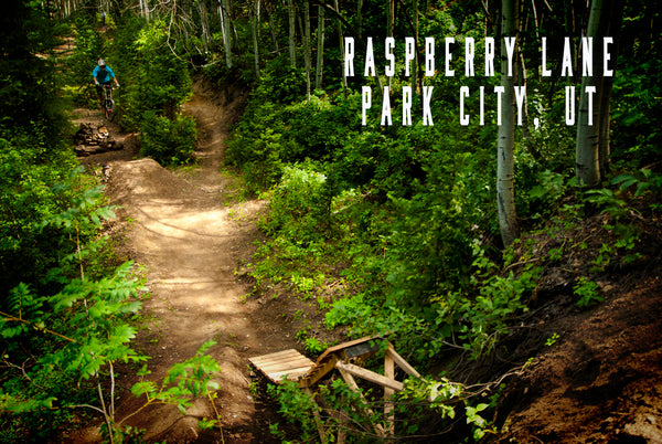Raspberry Lane downhill trail Park city utah
