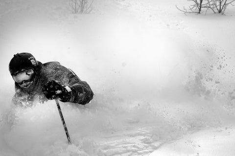 giray dadali ahmets brother powder skiing wasatch mountains utah