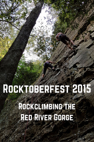 rocktoberfest 2015 rock climbing in the red river gorge
