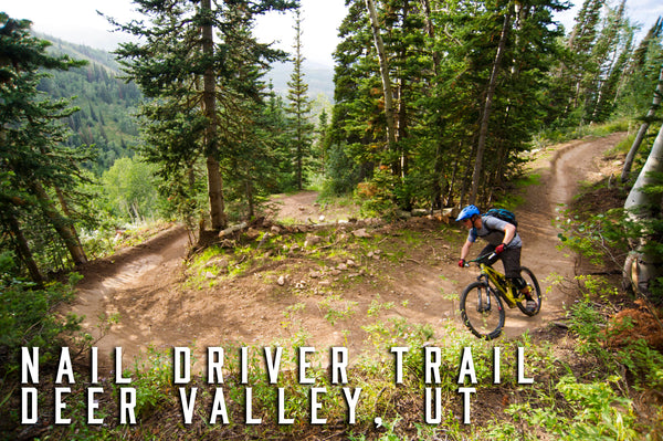 Nail driver trail deer valley ut