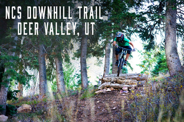 NCS downhill trail at deer valley utah park city utah