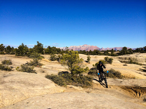 gooseberry mesa mountain biking trip in utah desert