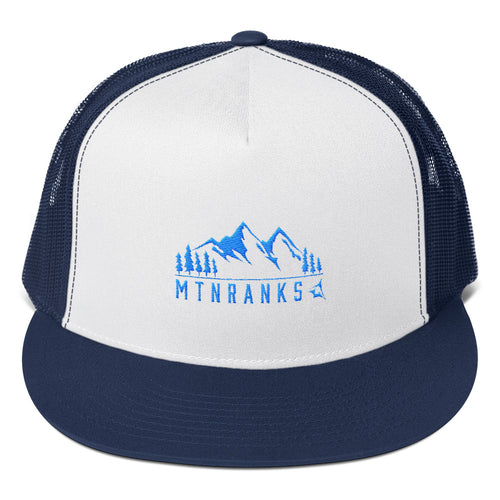 Ranks Range Flat Bill Trucker Cap