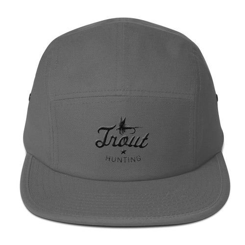 Trout Hunting Five Panel Cap