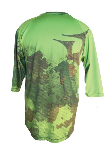 Mountain Bike Jersey Spec Ops Camo 3/4 Sleeve