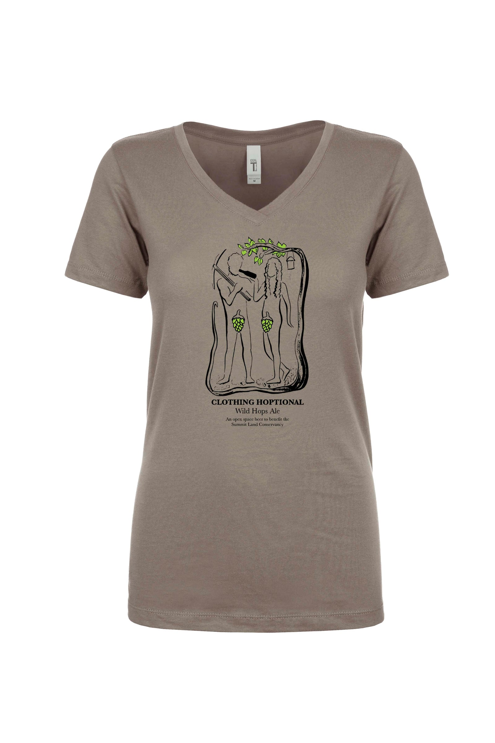 Summit Land Conservancy Clothing Hoptional Ladies Tshirt