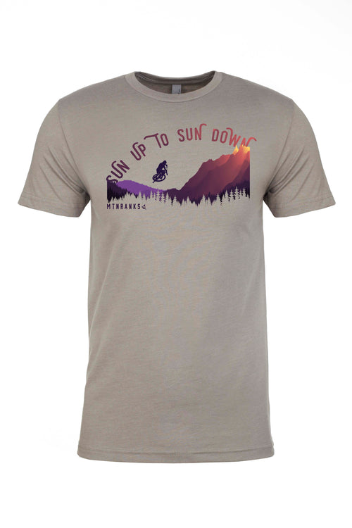 sunset mtb shirt