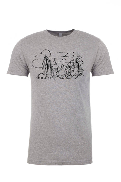 The City of Rocks shirt