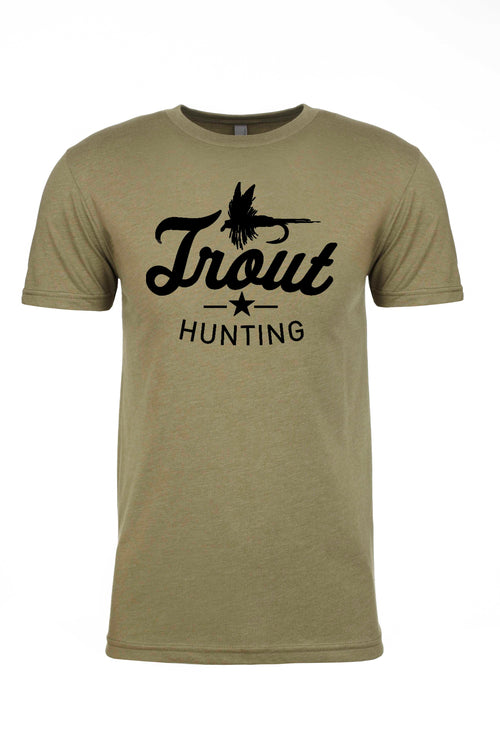 Trout Hunting Fly Fishing Shirt