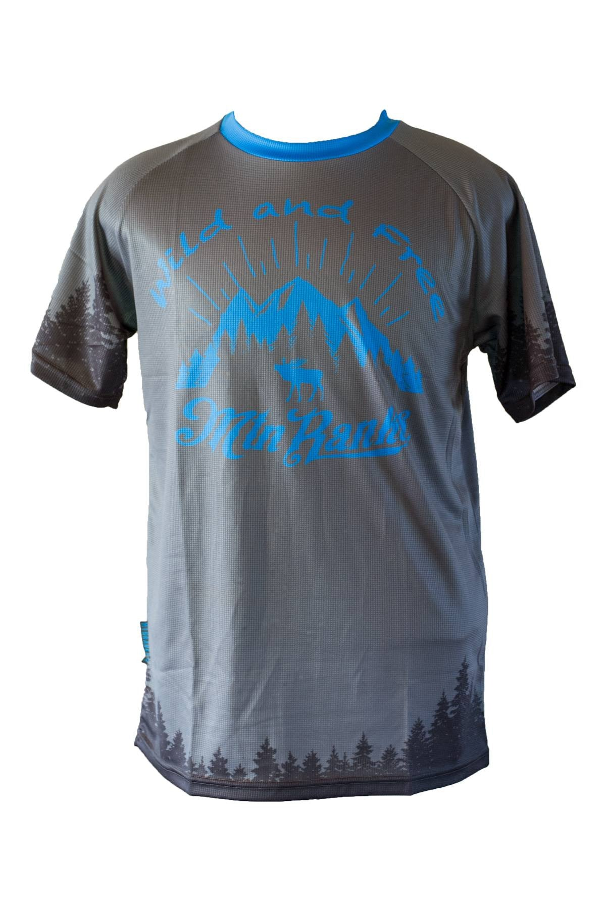 Wild and Free Short Sleeve Mountain Bike Jersey