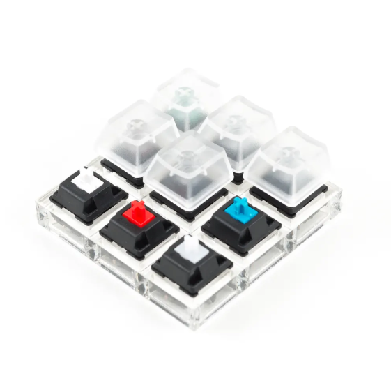 Comparison table for Common Cherry MX Switches