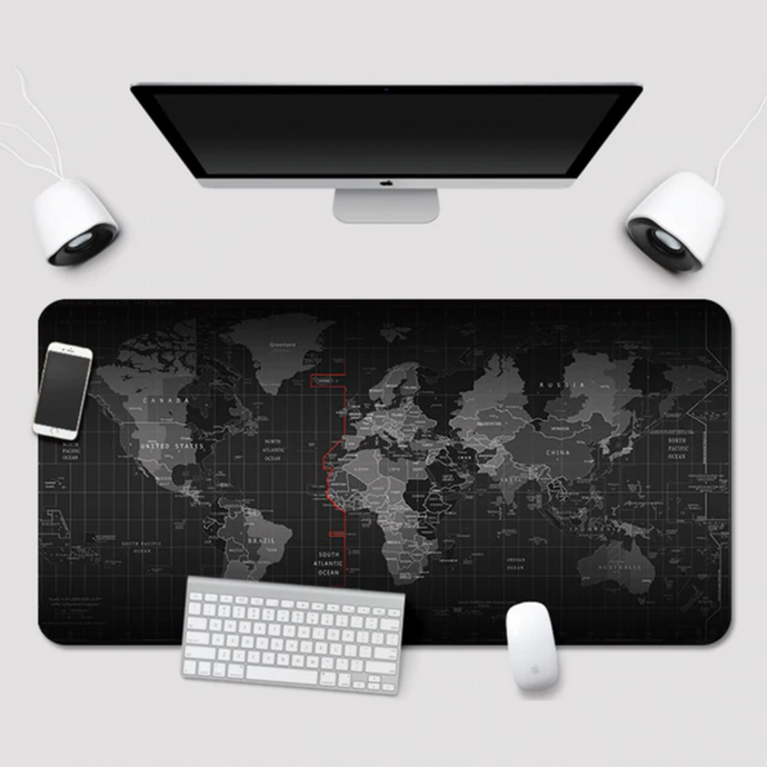 VOGROUND World Map Desk Pad