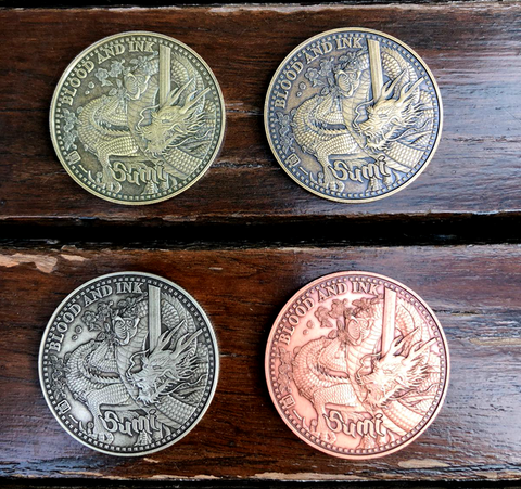 Sumi Coins : The Dragon & King Sumi Coin