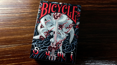 Bicycle Sumi Kitsune Playing Cards (Tale Teller)