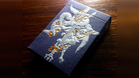 Sumi Kitsune Playing Cards (Myth Maker Craft Edition - Letterpress)