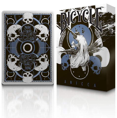 Anicca Playing Cards : Metallic Blue Edition