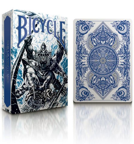 Bicycle Asura Deck (Metallic blue)