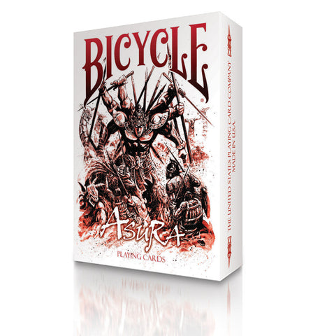 Bicycle Asura Deck (Red)